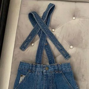 Vintage jean overall 1999